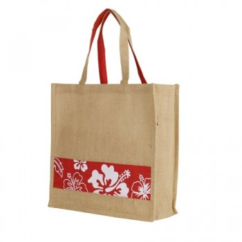 JB-005-Eco-Flower-Jute-Bag-Red