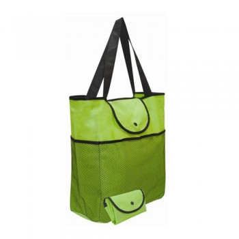 NB-034-Net-Pocket-Foldable-Non-Woven-Bag-Green