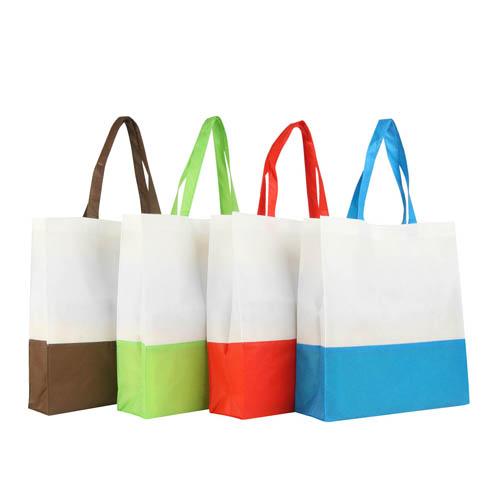 e966301556 2 Colour Non Woven Shopping Bag Supplier - Buy 2 Colour Non Woven Shopping  Bag Wholesale