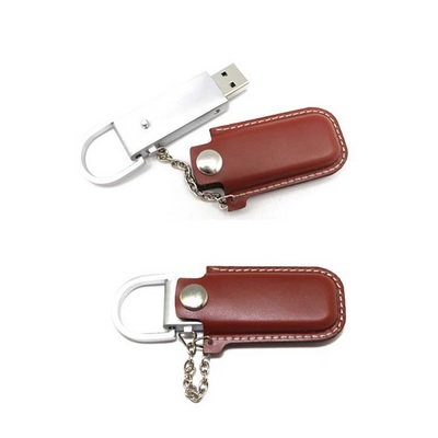 Chain Leather Pen Drive Supplier Buy Chain Leather Pen