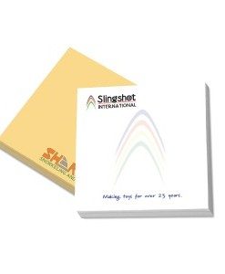Custom Made - Sticky Notepad without cover 75mm x 75mm