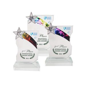 Crystal Trophies & Paper Weights